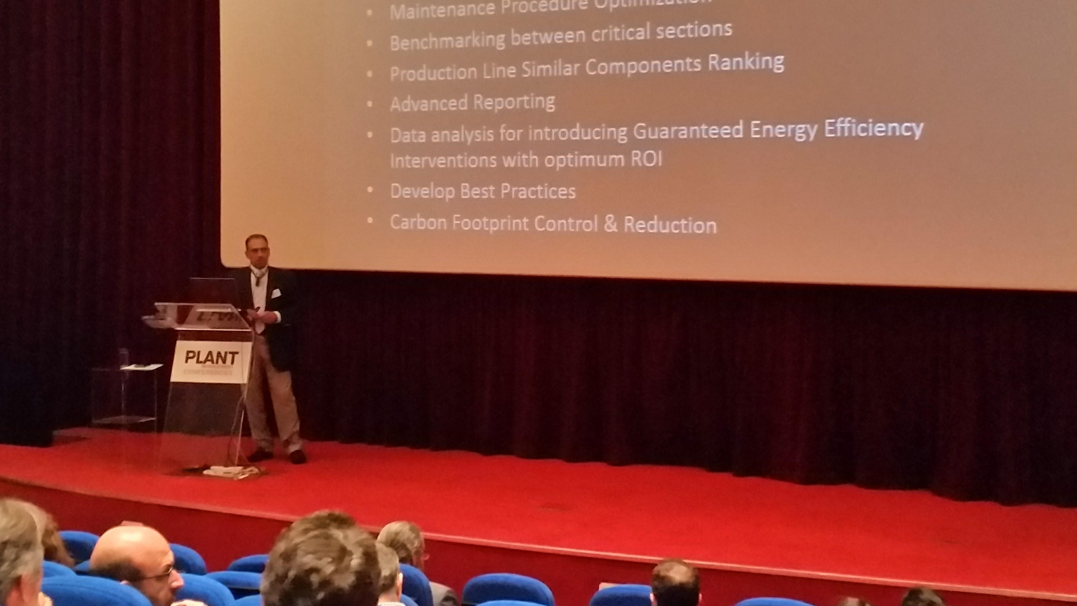 Athanassios Panagoulas Speaking at the Energy Efficiency Conference 2016