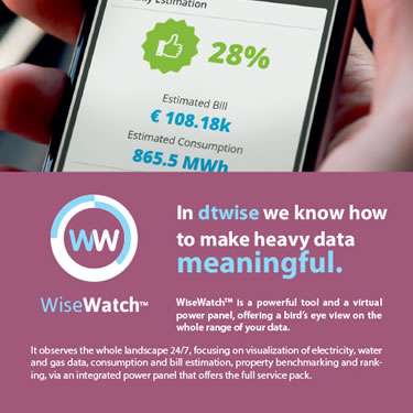DTWISE WiseWatch leaflet detail